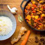 Japanse curry met stoofvlees recept