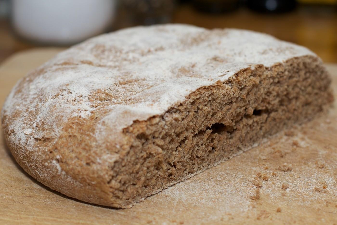 Frans boerenbrood van speltmeel