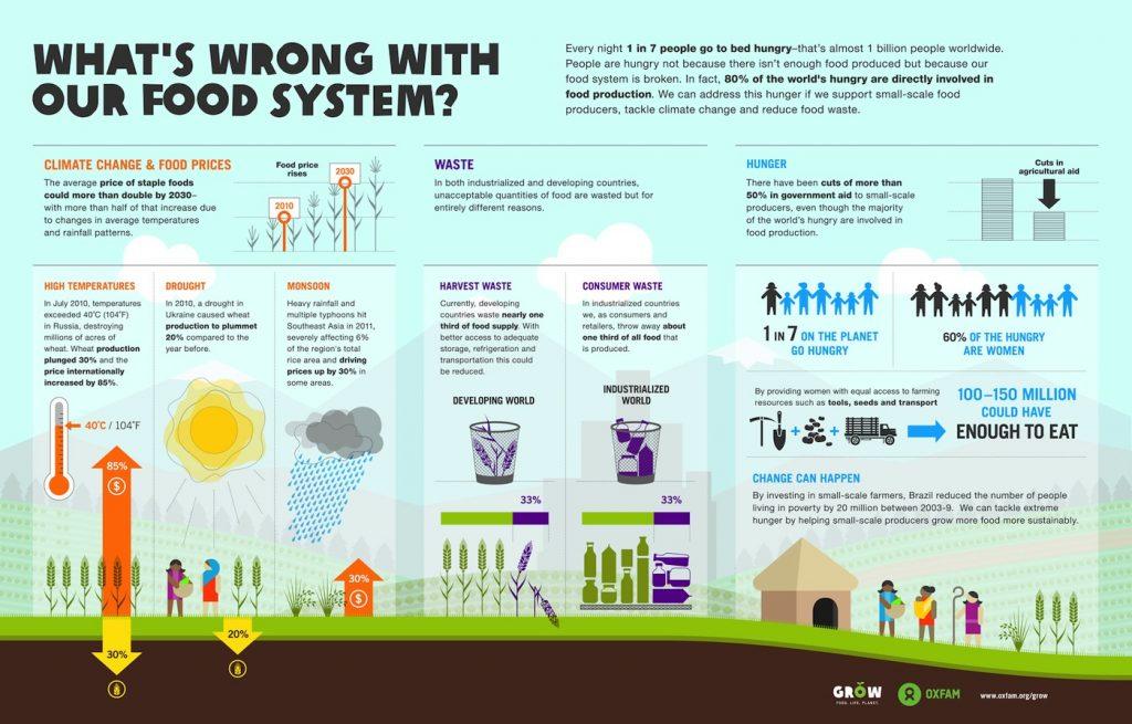 Wat is er mis met onze voedings systeem
