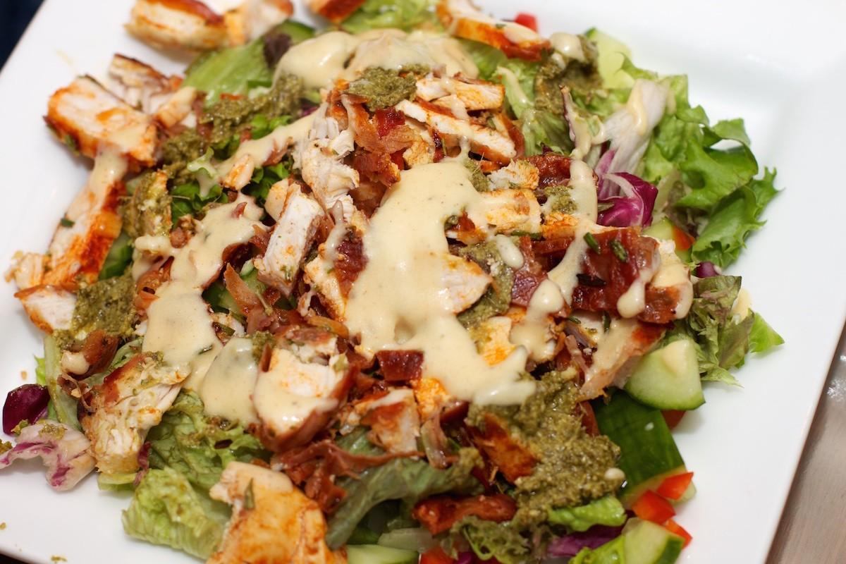 lekkere salades met kip