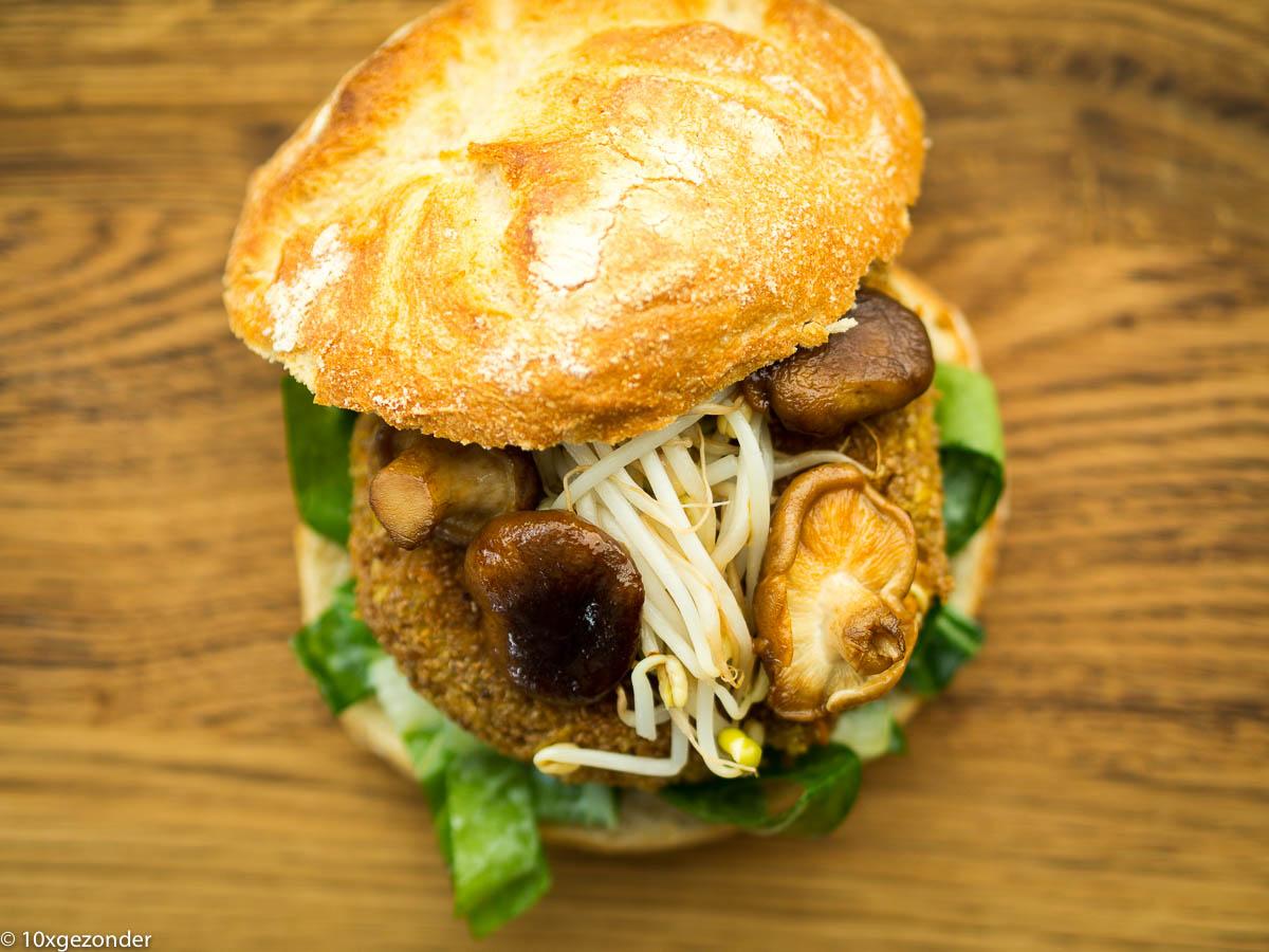Aziatische groenteburger