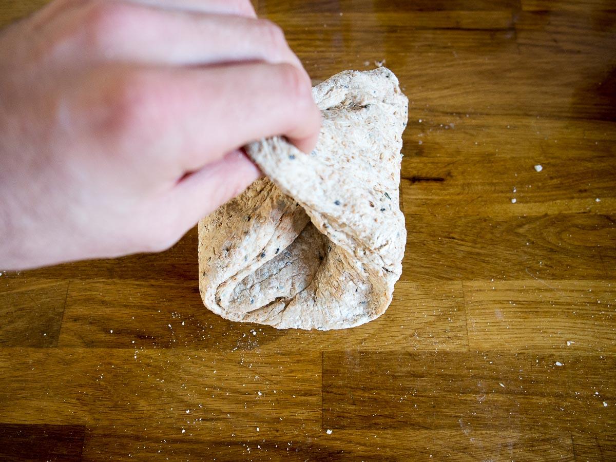 Stap 2: No Knead Bread vormen