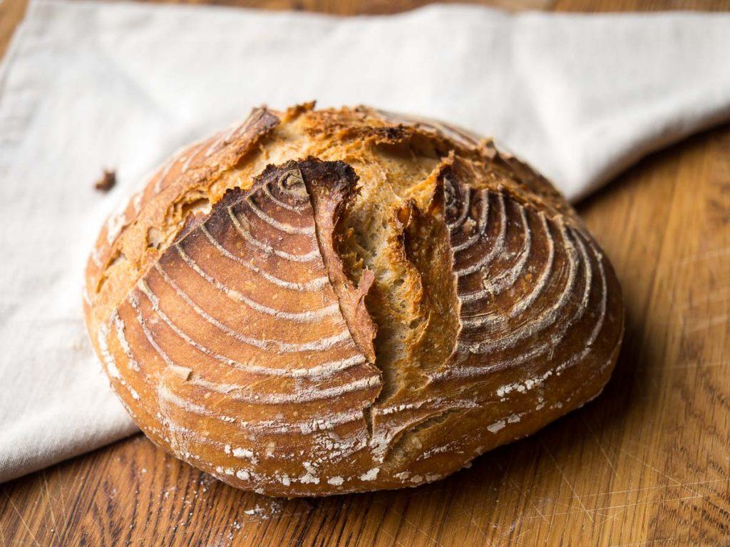 Stap 5: No Knead Bread eindresultaatStap 5: No Knead Bread eindresultaat